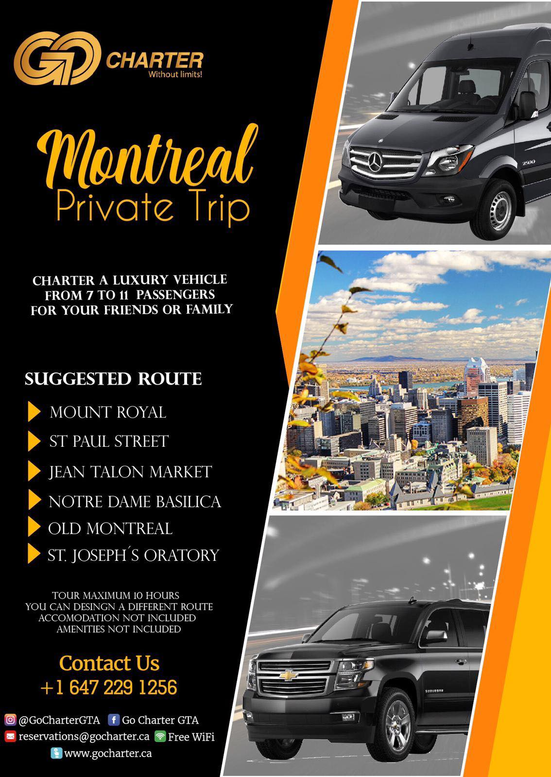 MONTREAL PRIVATE TRIP